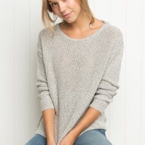 Brandy Melville Speckled Gray Sweater